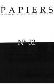 Les Papiers du Collège international de Philosophie n°32 : débat à propos de « Ouvrez-moi seulement les chemins d'Arménie »