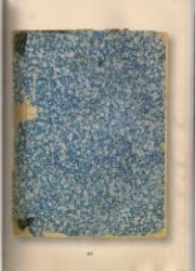Le petit cahier/Janine Altounian publié dans le cadre du projet NON-LIEUX DE L'EXIL - Displaced objects, coordonné par A. Galitzine-Loumpet
