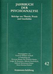 Jahrbuch der Psychoanalyse - Beiträge zur Theorie, Praxis und Geschichte - Band 42.